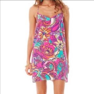 Lilly Pulitzer Dusk Silk Slip Dress